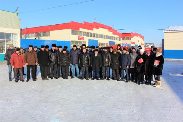Делегация из Республики Башкортостан посетила Производственную компанию «Агромастер»