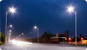 Светодиодный светильник Geliomaster GSSO установлен на автодороге г. Берск