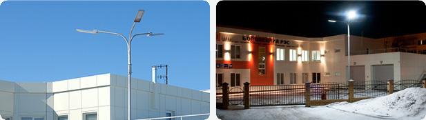Светодиодный светильник Geliomaster GSS установлен в г. Набережные Челны,Боровецкий РЭС