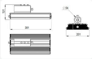 Светодиодные светильник GSO-20
