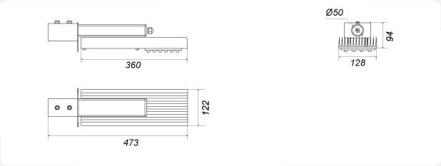 Cветодиодный светильник GSО-60