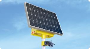 Система видеонаблюдения на солнечных батареях VGM