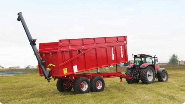 Прицеп тракторный ISON 8520/6700 c длиной кузова 6,7 м.
